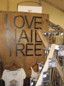 Love Nail Tree booth at Shecky's