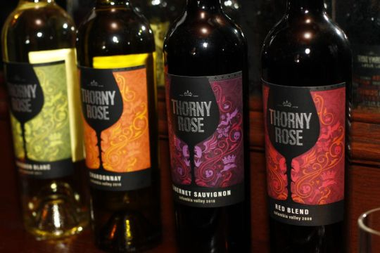 Thorny Rose Varietals - Chardonnay, Cabernet Sauvignon, Sauvignon Blanc and Red Blend