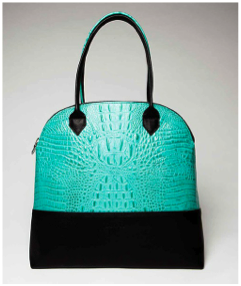 Peyton bag in Aqua from the Spring 2013 Collection - Would I wear this now- YES!