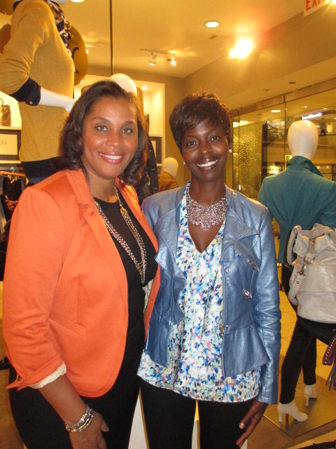 I had to grab a photo with Joi since I love volunteering with Dress for Success!