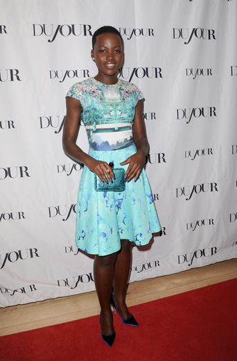 Lupita Nyong'o at Herringbone -Getty Images