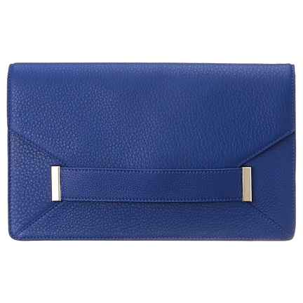 Portfolio Clutch in Blue, $149
