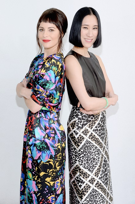 Sophia Amoruso and Eva Chen