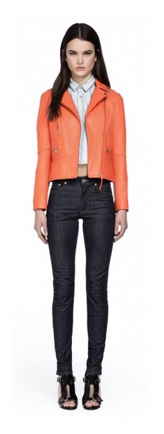 Dasia Poppy moto jacket
