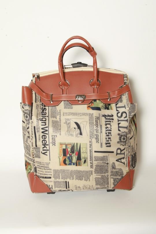 Paper Boy Roller Bag