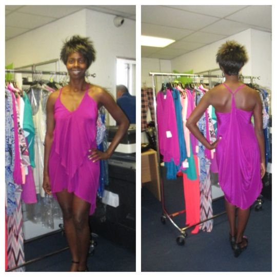 Cascade dress, $68 wholesale